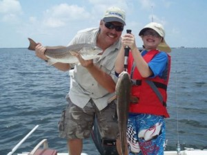 Tampa fishing redfish